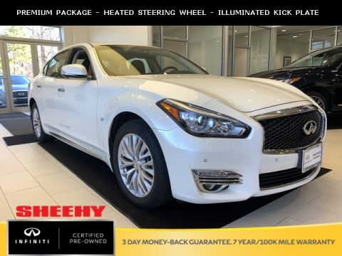 Certified Pre-Owned 2016 INFINITI Q70L 3.7X PREMIUM PACKAGE